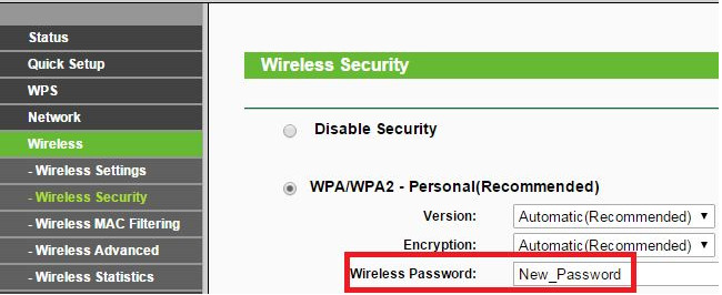 установка пароля Ростелеком